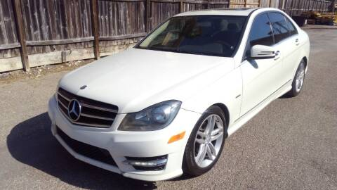 2012 Mercedes-Benz C-Class for sale at T.S. IMPORTS INC in Houston TX