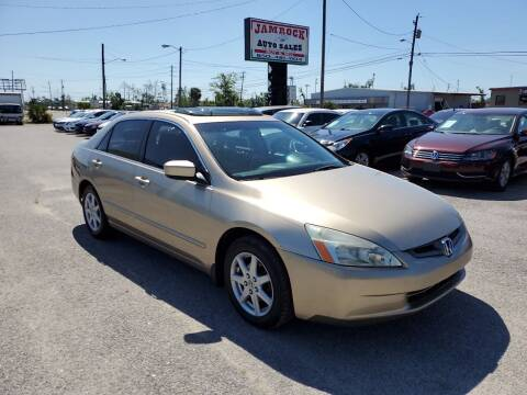 2003 Honda Accord for sale at Jamrock Auto Sales of Panama City in Panama City FL
