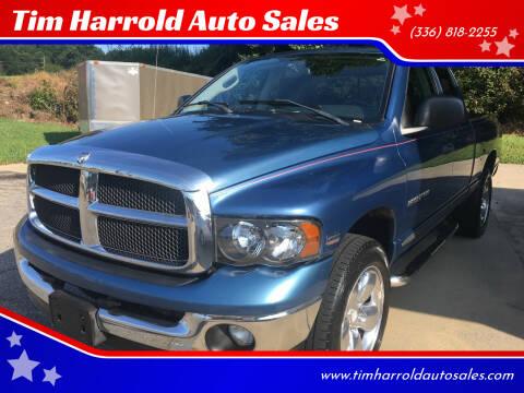 2004 Dodge Ram Pickup 1500 for sale at Tim Harrold Auto Sales in Wilkesboro NC