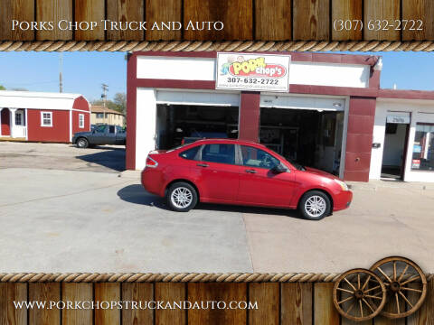 2010 Ford Focus for sale at Porks Chop Truck and Auto in Cheyenne WY