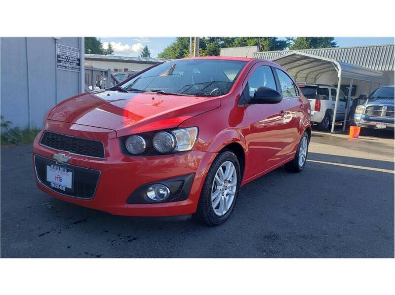 2013 Chevrolet Sonic for sale in Federal Way, WA