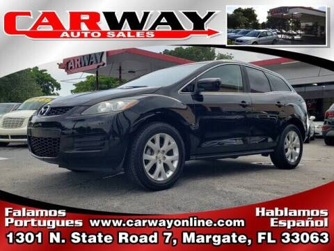 2009 Mazda CX-7 for sale at CARWAY Auto Sales in Margate FL