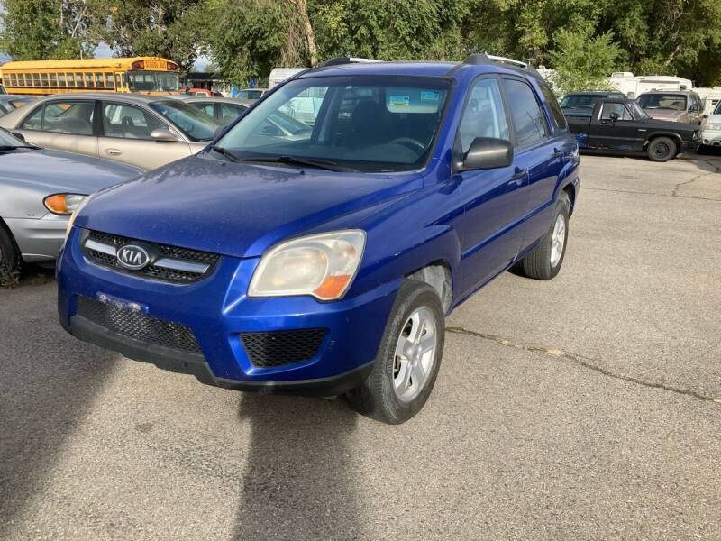 2009 Kia Sportage for sale at AFFORDABLY PRICED CARS LLC in Mountain Home ID