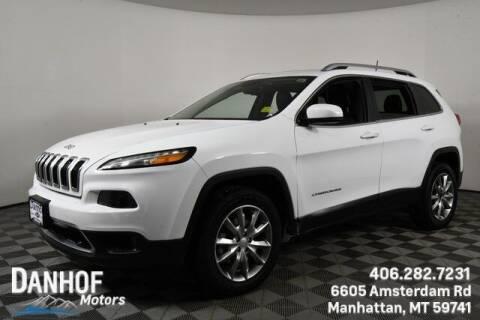 2017 Jeep Cherokee for sale at Danhof Motors in Manhattan MT