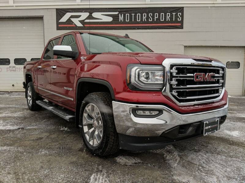 2018 GMC Sierra 1500 for sale at RS Motorsports, Inc. in Canandaigua NY