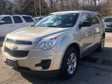 2013 Chevrolet Equinox for sale at AMA Auto Sales LLC in Ringwood NJ