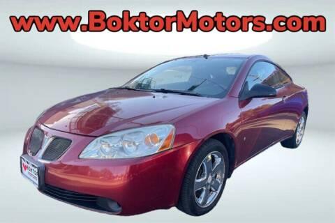 2008 Pontiac G6 for sale at Boktor Motors in North Hollywood CA