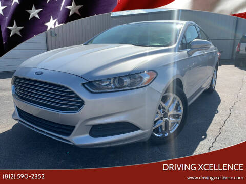 2016 Ford Fusion for sale at Driving Xcellence in Jeffersonville IN