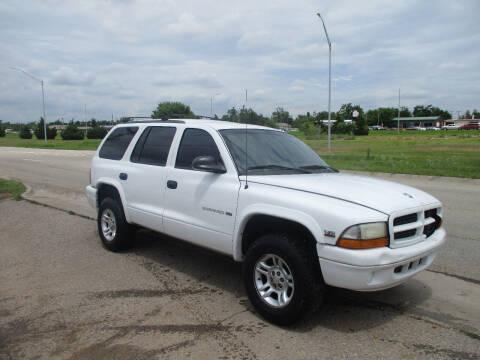 1999 Dodge Durango for sale at BUZZZ MOTORS in Moore OK