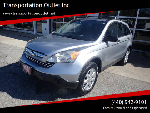 2007 Honda CR-V for sale at Transportation Outlet Inc in Eastlake OH
