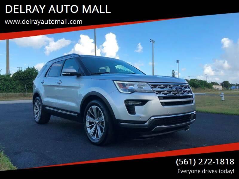 2018 Ford Explorer for sale at DELRAY AUTO MALL in Delray Beach FL