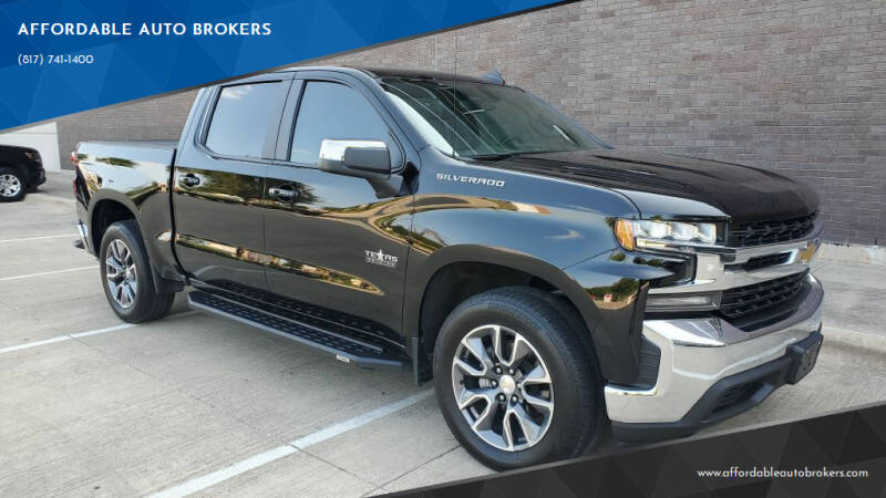 2020 Chevrolet Silverado 1500 for sale at AFFORDABLE AUTO BROKERS in Keller TX