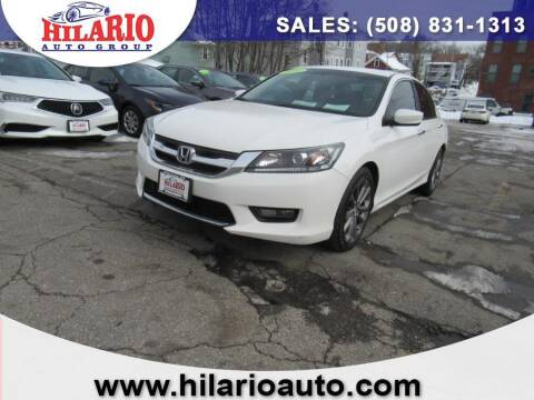 2014 Honda Accord for sale at Hilario's Auto Sales in Worcester MA