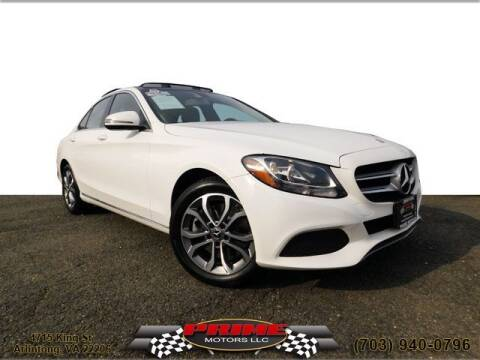 2017 Mercedes-Benz C-Class for sale at PRIME MOTORS LLC in Arlington VA