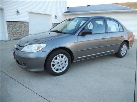 2005 Honda Civic for sale at OLSON AUTO EXCHANGE LLC in Stoughton WI