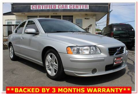 2009 Volvo S60 for sale at CERTIFIED CAR CENTER in Fairfax VA