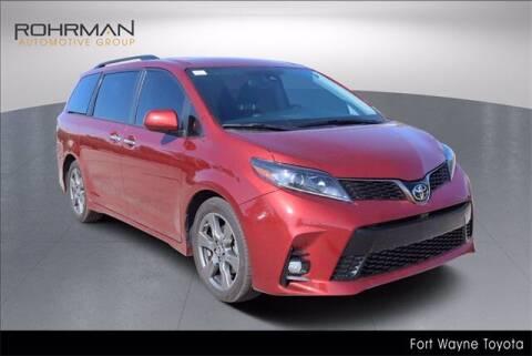 2020 Toyota Sienna for sale at BOB ROHRMAN FORT WAYNE TOYOTA in Fort Wayne IN