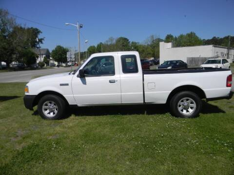 2007 Ford Ranger for sale at SeaCrest Sales, LLC in Elizabeth City NC