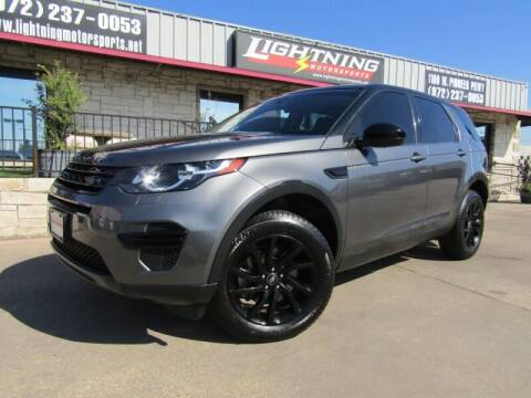 2017 Land Rover Discovery Sport for sale at Lightning Motorsports in Grand Prairie TX