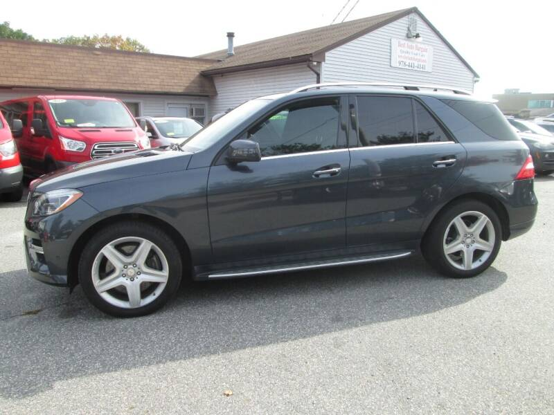 2013 Mercedes-Benz M-Class AWD ML 550 4MATIC 4dr SUV - Lowell MA