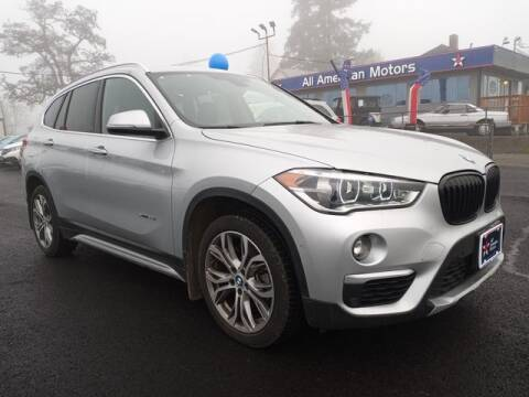 2017 BMW X1 for sale at All American Motors in Tacoma WA
