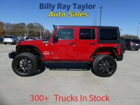 2011 Jeep Wrangler Unlimited for sale at Billy Ray Taylor Auto Sales in Cullman AL