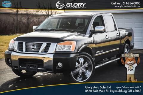 2010 Nissan Titan for sale at Glory Auto Sales LTD in Reynoldsburg OH
