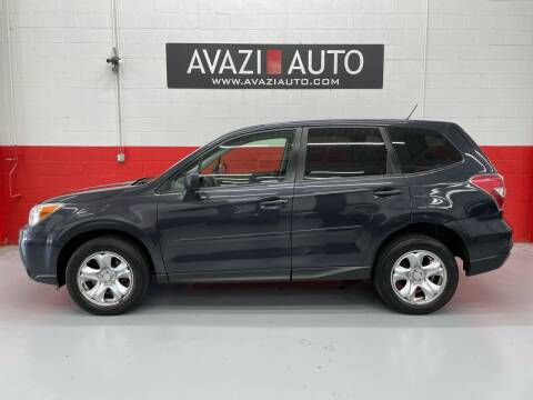 2014 Subaru Forester for sale at AVAZI AUTO GROUP LLC in Gaithersburg MD