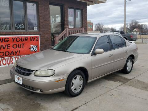 2000 Chevrolet Malibu for sale at CARS4LESS AUTO SALES in Lincoln NE