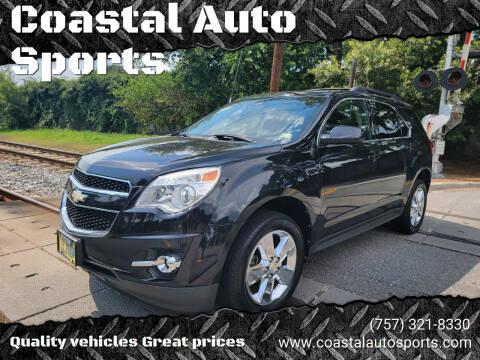2012 Chevrolet Equinox for sale at Coastal Auto Sports in Chesapeake VA