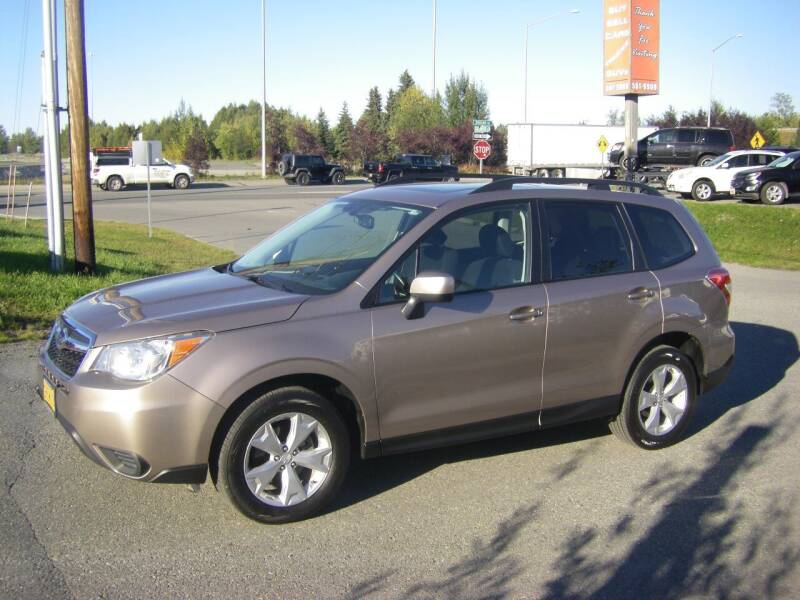 2014 Subaru Forester for sale at NORTHWEST AUTO SALES LLC in Anchorage AK