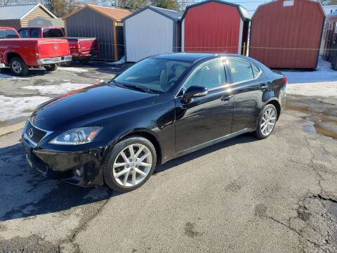 2012 Lexus IS 250 for sale at Motorsports Motors LLC in Youngstown OH