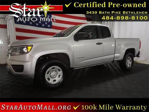 2018 Chevrolet Colorado for sale at STAR AUTO MALL 512 in Bethlehem PA