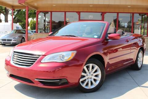 2013 Chrysler 200 Convertible for sale at ALIC MOTORS in Boise ID