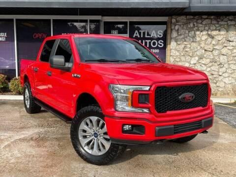2018 Ford F-150 for sale at ATLAS AUTOS in Marietta GA