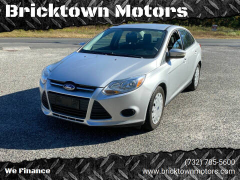 2013 Ford Focus for sale at Bricktown Motors in Brick NJ
