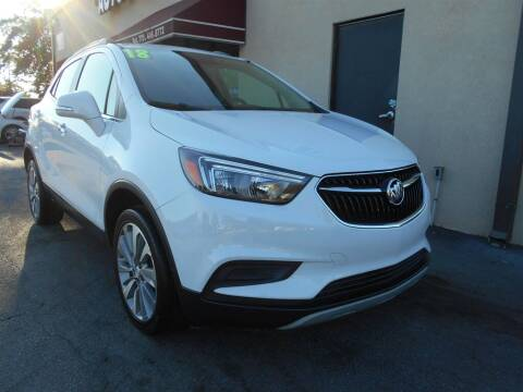 2018 Buick Encore for sale at AutoStar Norcross in Norcross GA
