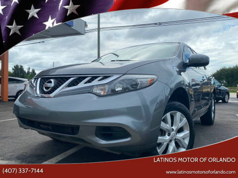 2014 Nissan Murano for sale at LATINOS MOTOR OF ORLANDO in Orlando FL