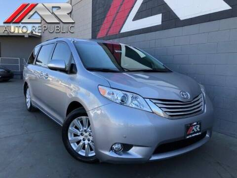 2013 Toyota Sienna for sale at Auto Republic Fullerton in Fullerton CA