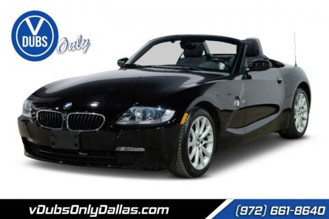 2007 BMW Z4 for sale at VDUBS ONLY in Dallas TX