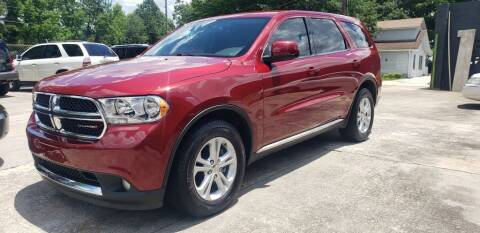 2013 Dodge Durango for sale at On The Road Again Auto Sales in Doraville GA