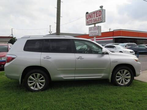 2008 Toyota Highlander Hybrid for sale at United Auto Sales in Oklahoma City OK