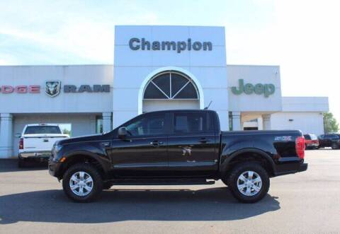 2019 Ford Ranger for sale at Champion Chevrolet in Athens AL