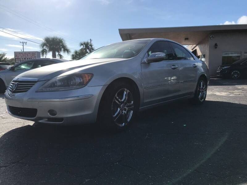 2006 Acura RL for sale at AutoVenture Sales And Rentals in Holly Hill FL