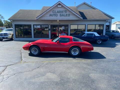 1978 Chevrolet Corvette for sale at Clarks Auto Sales in Middletown OH