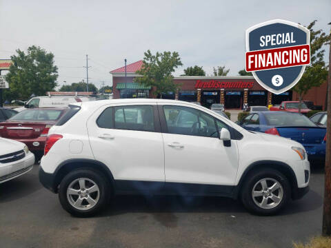 2015 Chevrolet Trax for sale at Rayyan Auto Mall in Lexington KY