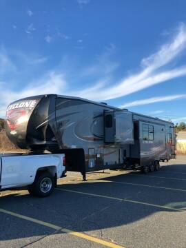 2016 Heartland Cyclone 4150  for sale at Autowright Motor Co. in West Boylston MA