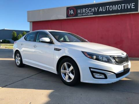 2015 Kia Optima for sale at Hirschy Automotive in Fort Wayne IN