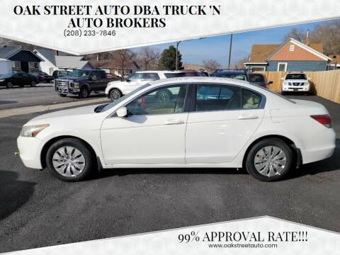 2009 Honda Accord for sale at Oak Street Auto DBA Truck 'N Auto Brokers in Pocatello ID