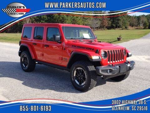 2019 Jeep Wrangler Unlimited for sale at Parker's Used Cars in Blenheim SC
